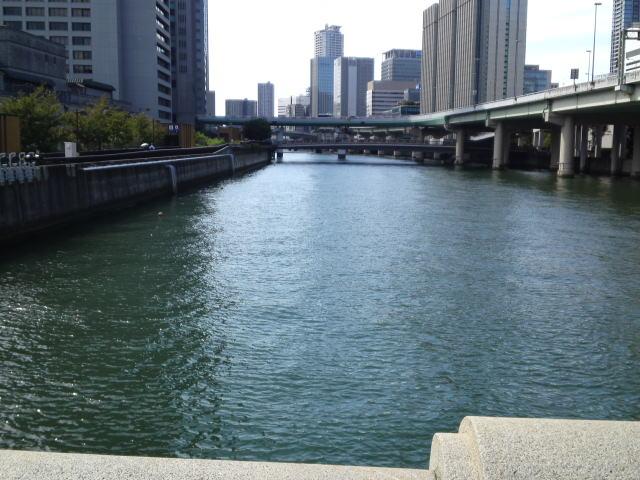 写真は堂島川です