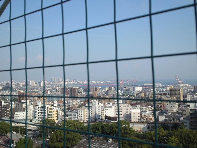神戸港周辺も一望できて良い景観!