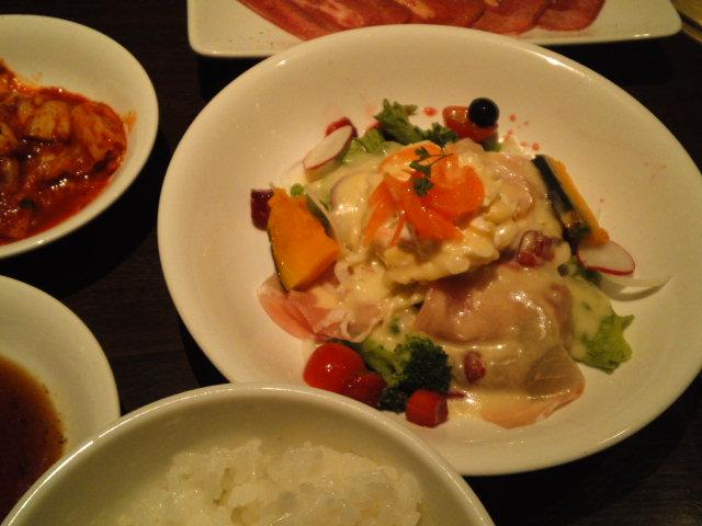 ワンカルビの前菜・サラダ