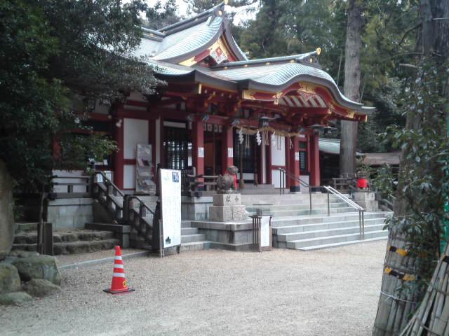 越木岩神社(こしきいわじんじゃ)に到着