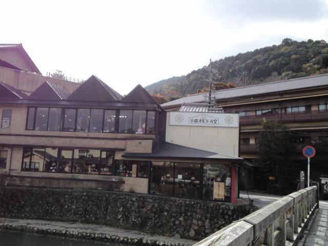 京都オルゴール堂付近