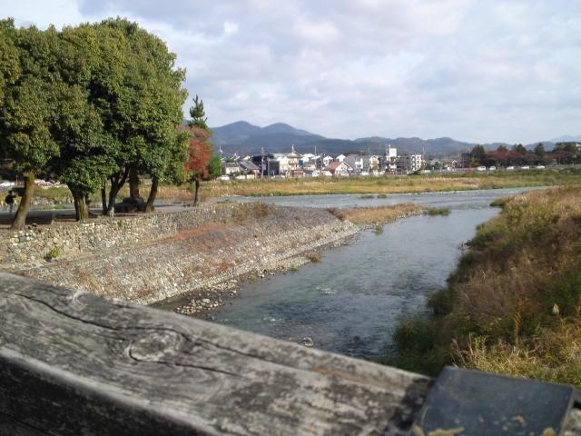 龍が如く見参!にも登場した「渡月橋(とげつきょう)」。