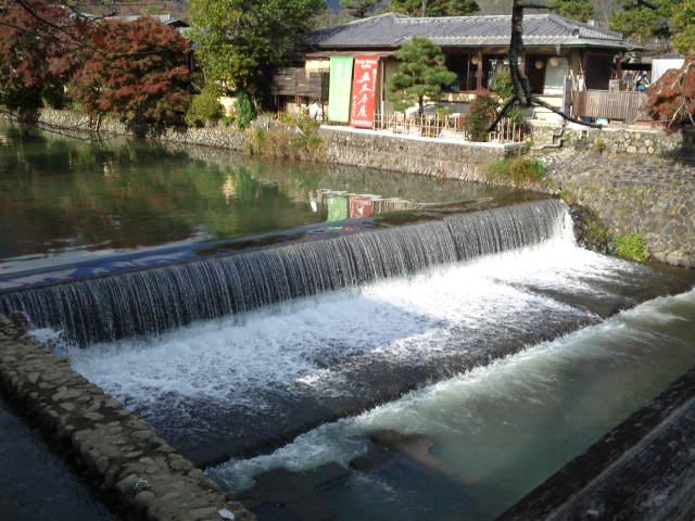 「桂川」が見えてきました。