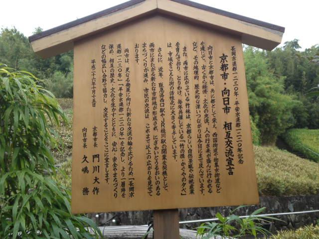 京都市・向日市 相互交流宣言