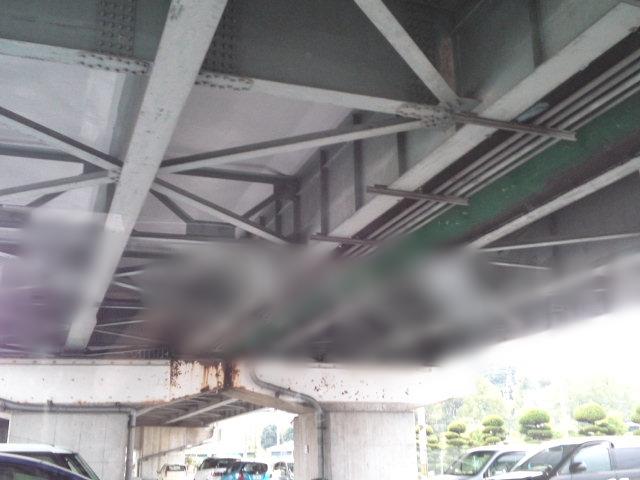 写真はイナイチ沿い(171号線)の北村の交差点付近の駐車場