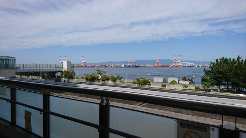 南港の景観。良い景色です。