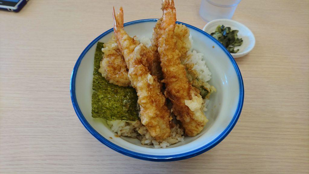 海老天丼なんて390円ですからね。