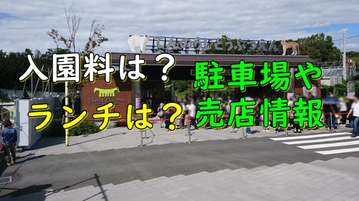 天王寺動物園に遊びに行ってきたゾウ!料金やランチは?(駐車場や売店情報)