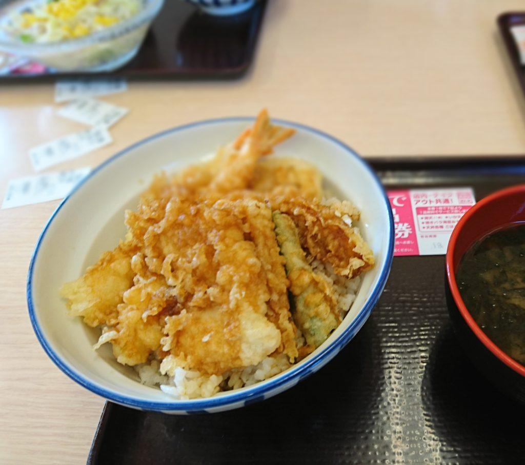 天丼も天ぷらも抜群。